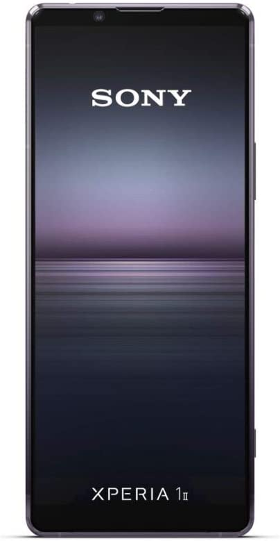 Sony Xperia 1 II Smartphone (16,5 cm (6.5 Zoll) 4K HDR OLED Display, Triple-Kamera System, Android 10 SIM Free, 8 GB RAM, 256 GB Speicher, IP65/68 Zertifizierung) Violett