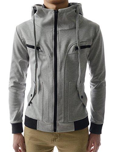 Zipper Hood Jacket - 8