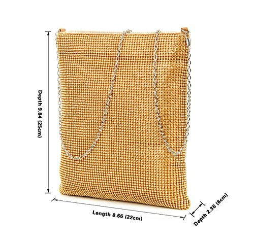 Bags Over Women's Diamond Bags Fashion Prom Evening Purse LeahWard Handbags Clutch Champagne Night Cross Strap Clutch Body Chain Wedding Nice Out Sparkly Shoulder Cross 6PqEd