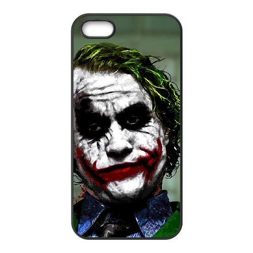 Joker 006 iPhone 5 5S Handyfall hülle schwarz Handy Fallabdeckung EOKXLLNCD24900