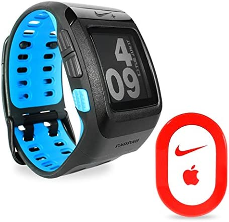 suéter Método reserva  Amazon.com: Negro antracita azul Gear wm0097 de running Nike + Plus SPORTWATCH  GPS con sensor [embalaje]