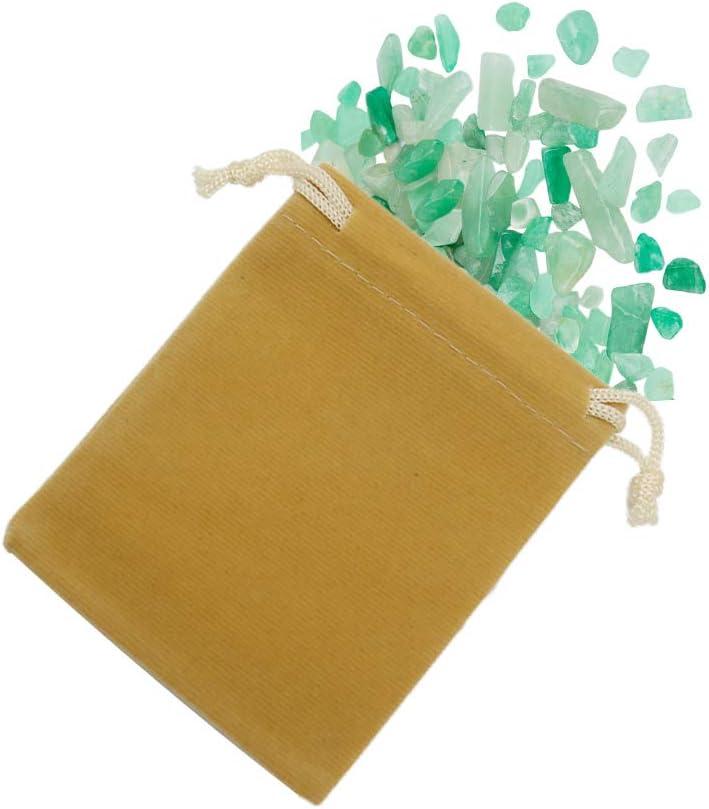 HRX Package Lot de 20 Pochettes en Velours avec Cordon de Serrage pour Bijoux Petit Emballage Cadeau