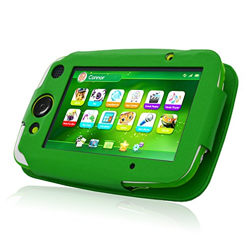 ACdream LeapPad Platinum Case, PU Leather Cover Case for LeapFrog LeapPad Platinum Kids Learning Tablet (NOT FIT LeapPad3), Green by ACdream (Image #2)