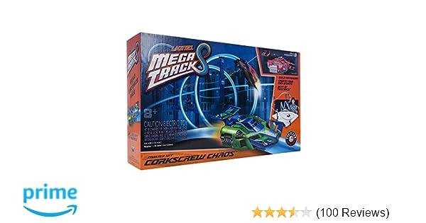 Lionel Mega Tracks - Corkscrew Chaos Red Engine