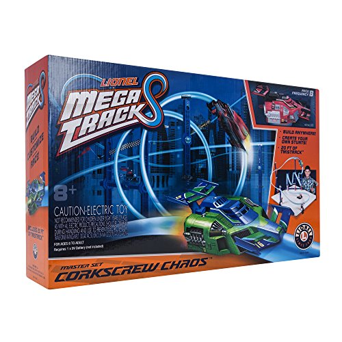 Lionel Mega Tracks - Corkscrew Chaos Red Engine