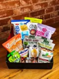 The Gnawty Vegan Snack Box: Variety Pack (Pack of 22), Natural, Organic, Non-GMO, Chips, Crackers, Dried Veggies, Dried Fruit, Vegan Care Package