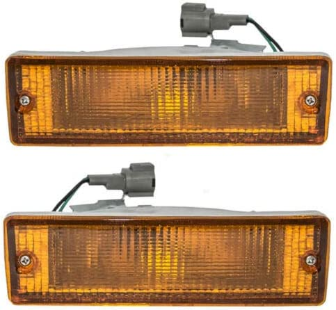 Parts N Go 1988-1995 Pathfinder D21 Turn Signal Light Driver /& Passenger Side Left//Right Hand NI2521108