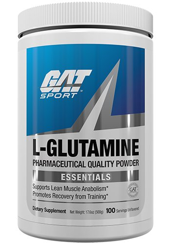 GAT Pure and Potent L-Glutamine Supplement for Advanced Athlete Recovery, 500 Gram