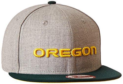 NCAA Oregon Ducks Bind Back 9Fifty Snapback Cap, Small/Medium, Gray