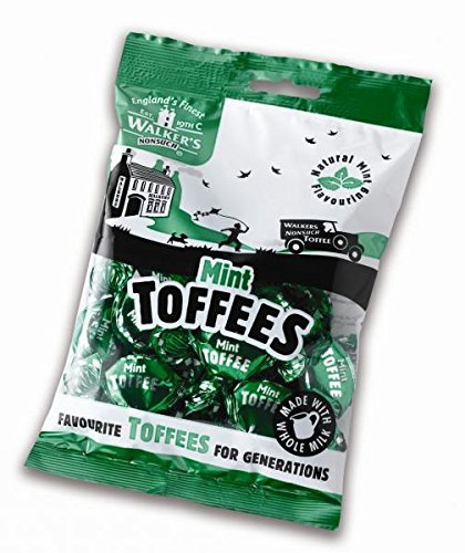 Walker's Nonsuch Mint Toffees 150g Bag (Pack Of 3) New by Walker's Nonsuch