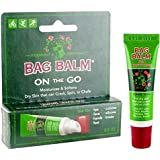 Vermont's Original Bag Balm Skin Moisturizer On-The-Go 0.25 ounce tube -For Dry Skin that can crack or split, Hands and Feet, Elbows, Knees, Lips, Cuticles, Face and Dry Calloused or Rough Skin.