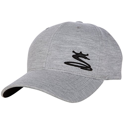 King Cobra Wyatt Fitted Cap (Gray, Small/Medium) Golf Hat