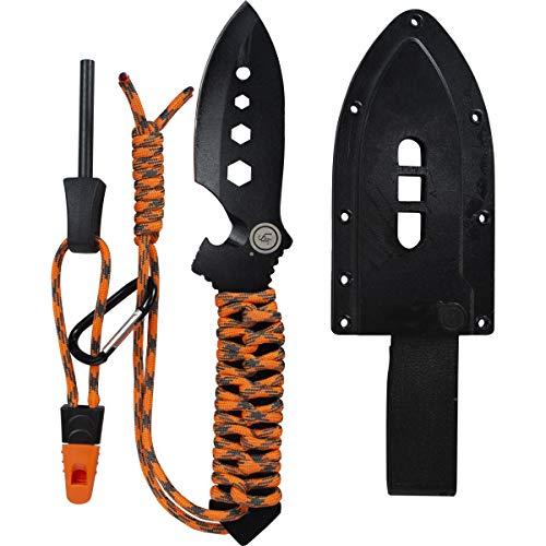 UST 20-12470 Black Oxide Coated ParaShark PRO Fixed Knife ()