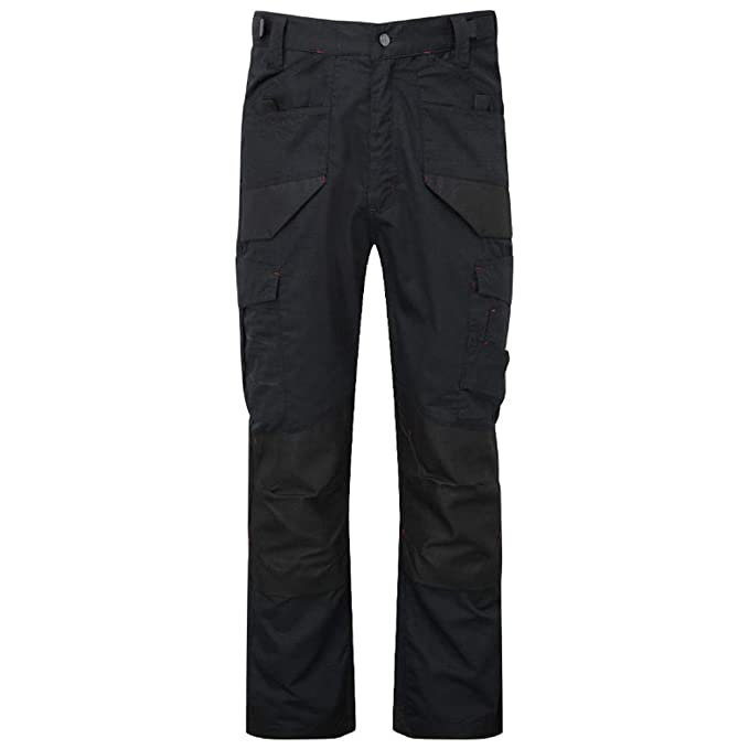 Tuff Stuff Workwear Trousers Heavy Duty Trousers For Mens With Inside Leg 32.5 Inches