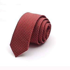Corbatas YIXINY Tie Masculina Ocasiones Formales Ocio Novio Boda Estudiante 5cm (Color : 5)