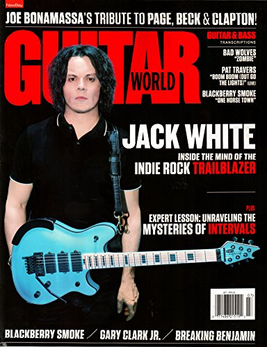 Magazine Guitar World (Guitar World Magazine July 2018 | Jack White – Indie Rock Trailblazer)