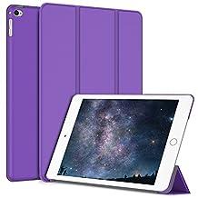 iPad Mini 4 Case, JETech Gold Serial Apple iPad Mini 4 Slim-Fit Folio Smart Case Cover with Auto Sleep/Wake for Apple New iPad Mini 4 Released on 2015 (Purple) - 3287