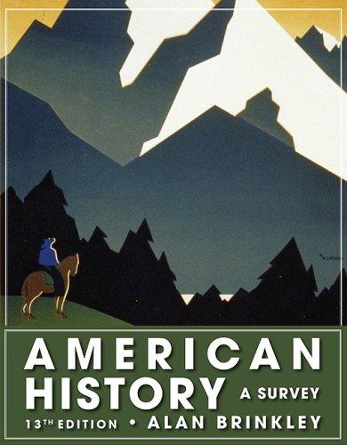 American History: A Survey, 13th Edition (NASTA Hardcover Reinforced High School Binding)