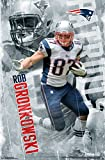 "Amazon Price History for:Trends International RP13664 Wall Poster New England Patriots Rob Gronkowski,,22.375"" X 34"""