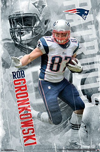 Trends International RP13664 Wall Poster New England Patriots Rob Gronkowski22375quot