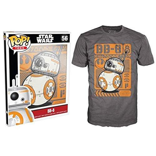 Poster Bb (Funko Pop T-Shirts: Star Wars Episode 7 - BB-8 Type Poster, Large)