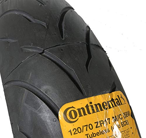 CONTINENTAL MOTION Tire Set 120/70zr17 Front & 180/55zr17 Rear 180 55 17 120 70 17 2 Tire Set by Continental (Image #5)