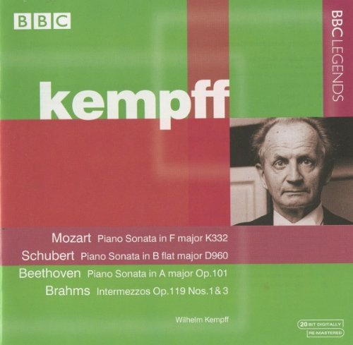 William Kempff Plays Piano Sonatas by Alliance