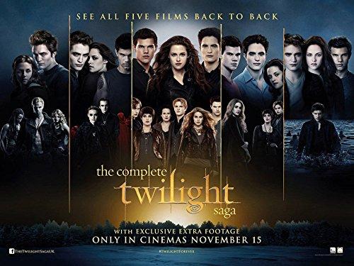POP Home Store Twilight Saga Breaking Dawn All Five Film Poster wall 12X18 Inch