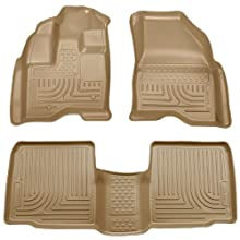 Husky Liners Front & 2nd Seat Floor Liners (Footwell Coverage) Fits 09-16 MKS