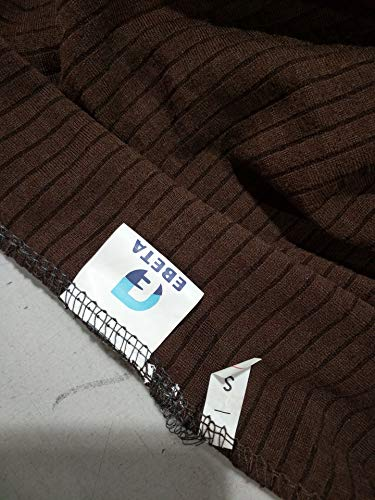 E EBETA Élastique Housses de canapé Housses de Coussin, Revêtement de Canapé Extensible Housses de canapé à 2 Places (Brown, 145-185 cm)