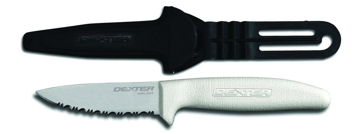 Dexter Outdoors Utility/Net Knife with Sheath, 3-1/2''