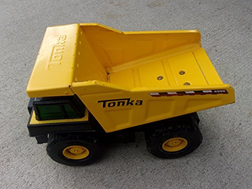 Vintage Tonka Dump Truck - circa 2009 - pressed steel upper body - paint still in ex ellent condition - only used indoors
