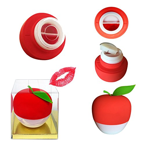 Sexy Full Best Lip Plumper Devices Enhancer (GEL Mouth Cover Included) Hot Sexy Mouth Beauty Lip Pump Enhancement 2017 New Style, Pump Device Quick Lip Plumper Enhancer (Red)