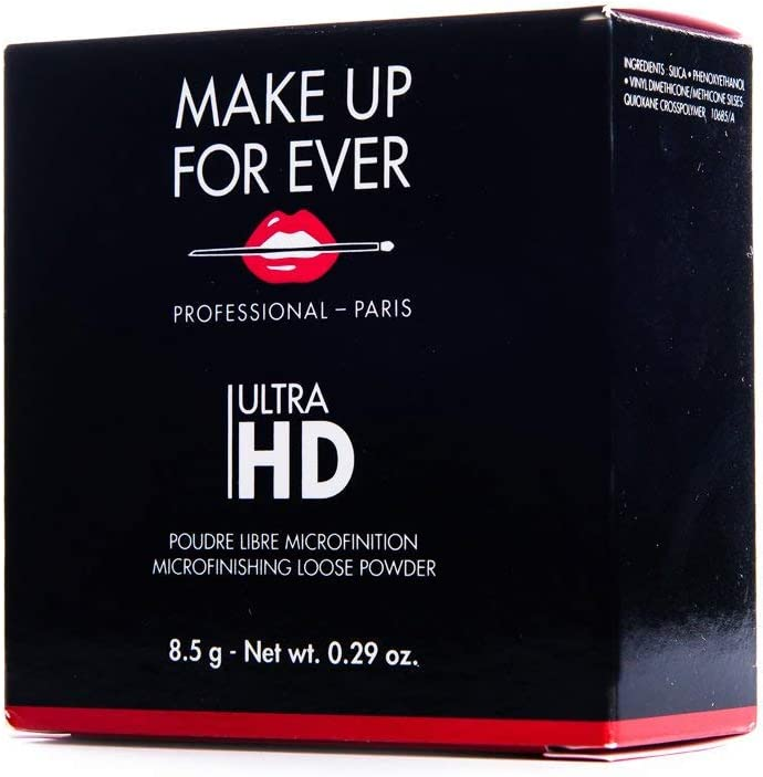 Make Up For Ever - Polvos sueltos Ultra HD, 8,5 g