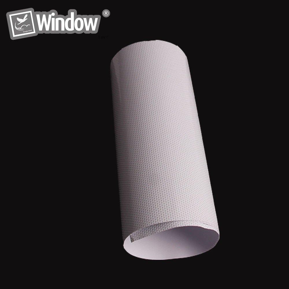 Amazon Einseitige perforiert Vinyl Sichtschutz Fensterfolie