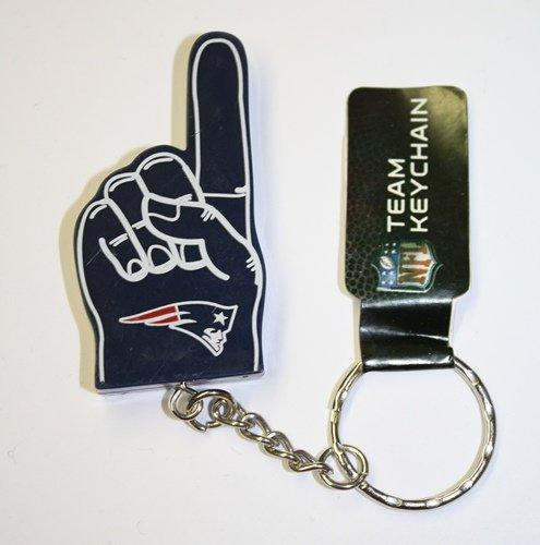 (New England Patriots #1 Finger Keychain)