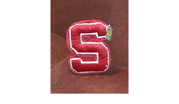 Herrington Teddy Bear Company Stanford Cardinals Plush Initial Logo Pillow