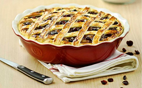 Timeless rouge red pie dish
