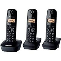 Panasonic KX-TG1613 3 Handset Cordless Phone 220-240 Volts 50/60Hz Export Only