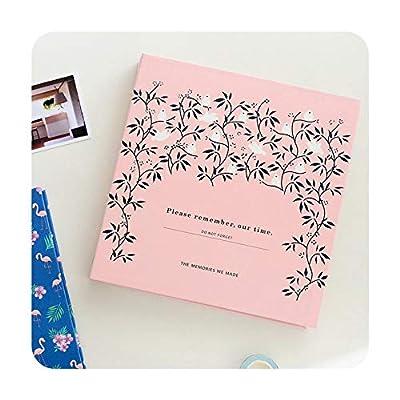 foosheeonzi Creative Korean Version Photo Album of DIY Manual Self-Adhesive Album Wedding Anniversary Birthday DIY Sticky Type Album