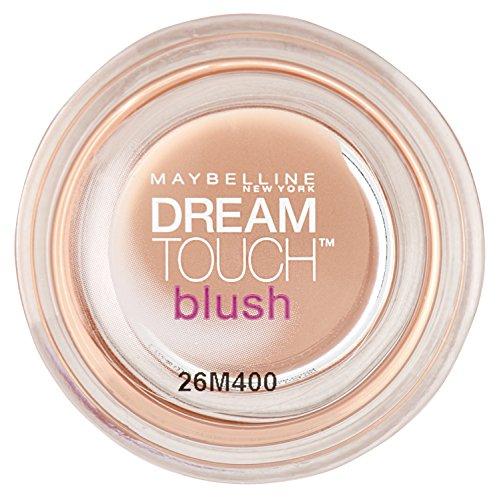 Maybelline New York Dream Touch Blush Rouge Peach 02 / Pfirsichfarbendes Rouge-Puder, Make-Up für einen frischen Teint mit leichtem Tragekomfort, 1 x 7,5 g