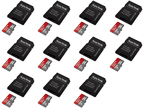 11 x Quantity of LG G Pad F7.0 Ultra 8GB UHI-I/Class 10 Micro SDHC Memory Card Up To 48MB/s With Adapter- SDSDQUAN-008G-G4A [Newest Version] SDSDQUAN-0 - FAST FREE SHIPPING FROM Orlando, Florida USA!