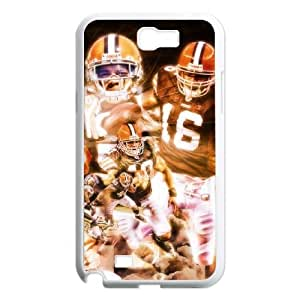Cleveland Browns Samsung Galaxy N2 7100 Cell Phone Case White 218y3-133874