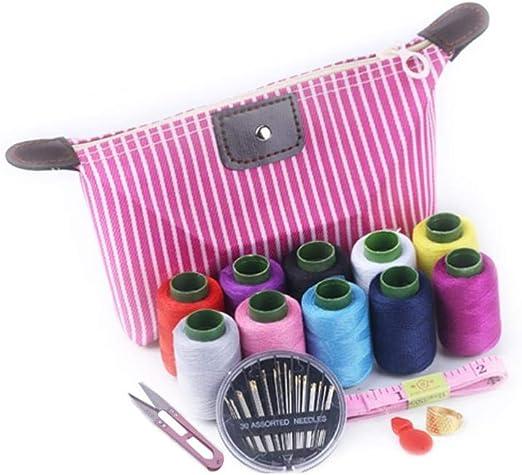 Hilo de coser para el hogar, juego de cajas de costura, caja de ...