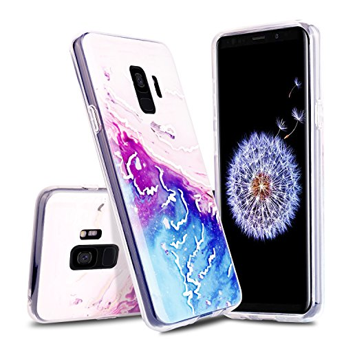 Venoro Galaxy S9 Case, Slim Ultra Thin Anti-Scratch Shockproof Anti-Finger Print Protective Case Cover for Samsung Galaxy S9/SM-G960U/SM-G960F (Quicksand ()