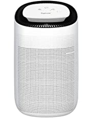 Hysure Air Dehumidifier with/Air Purifying Function 1000ml True HEPA Filter,Ultra-Quiet Portable for Small Rooms, Bathroom, Bedroom, Wardrobe Room,Crawl Space, Basement -Model.Q7 2 in 1Function