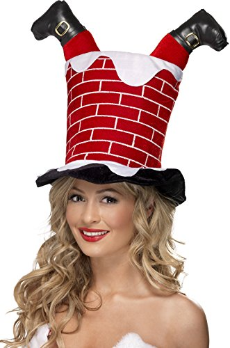 [Santa Stuck in Chimney Hat] (Unique Santa Costumes)