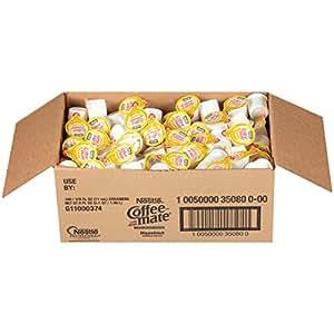 NESTLE COFFEE-MATE Coffee Creamer, Hazelnut, liquid creamer singles, Pack of 180