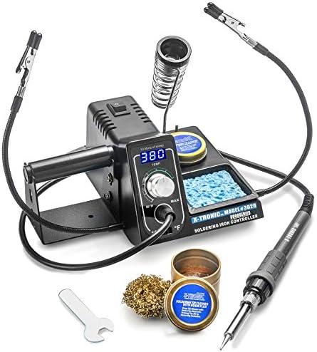 4-Piece Soldering Tip Kit for Deluxe 30 Watt Grounded Soldering Iron