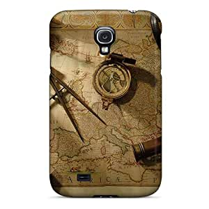 Mialisabblake Snap On Hard Case Cover Geography Protector For Galaxy S4